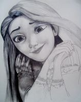 Rapunzel W.I.P. by boy140495