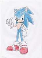 sonic the hedgehog drawing 2 by nothing111111