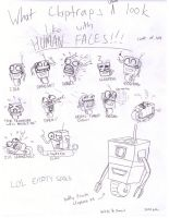 Claptraps and their many faces by bubs-AKA-vermin