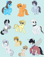 Fruits Basket Ponies by CardcaptorKatara