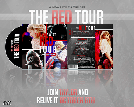 Taylor Swift - The Red Tour Cover + AD by UniqueSanity