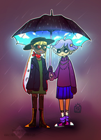Squids by Cyber--Zombie