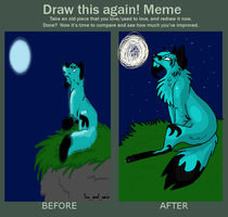 Before and After meme by Wufskeh