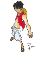 luffy couleurs by JLZ74
