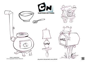 Cartoons household furniture by celaoxxx