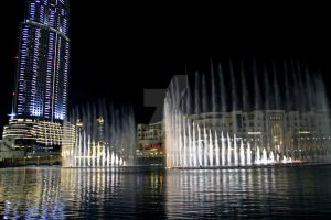 Dubai Fountain by LeighWhittaker