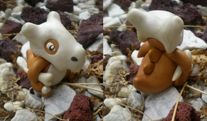 Cubone by Foureyedalien
