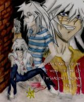 -Beautiful Misery- Bakura by kuroi-fayth