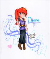 Diana ~ For Ry's contest XD by Angelwing8