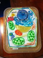 Plant Cell Cake by tofu-survivor