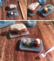 Miniature: Lasagne by fiat500S