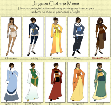 Mesoka - Clothing Meme Update by hyperionwitch