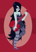 Marceline the Vampire Queen by ZoeStanleyArts