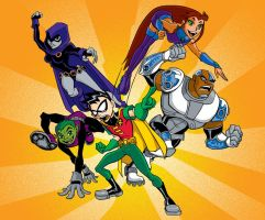 Teen Titans Try out_COLOR by tombancroft