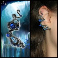 Atlantis ear cuff by JSjewelry