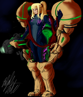 Perfect Works - Samus Aran by PeterPrime