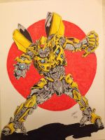 Bumblebee by coyote117