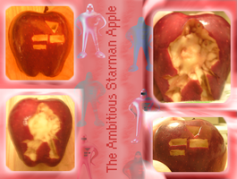 The Ambitious Starman Apple by Speedvore