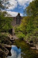 Elan Valley Dam by CharmingPhotography
