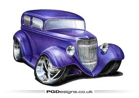 1934 Sedan hotrod by PGDsx