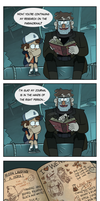 Dipper's Research by markmak