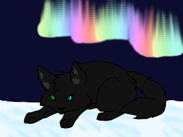 Northern Lights by ErythraPyralis