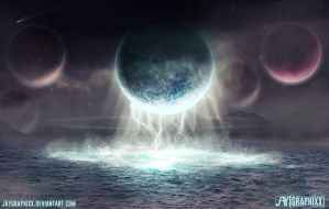 Interstellar Tides by JayGraphixx