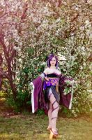 Samurai Warriors 3 Cosplay: Nohime by alberti
