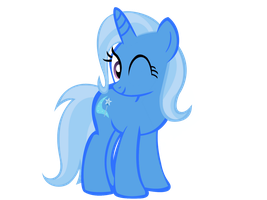 (requested)  A winkin trixie by kuren247