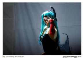 Day 160: Morrigan on Stage by CatoKusanagi