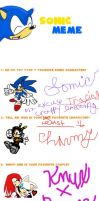 Sonic Meme Thingy by Loor101