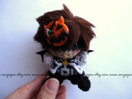 Halloweentown Sora Amigurumi by AnyaZoe