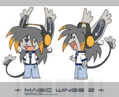 + Magic Wings Z + by Nakarie