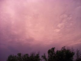 Purple Sky by Saenzlove17