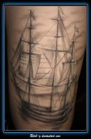 Pirate Ship Healed 1st sitting by ritch-g