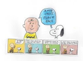 Peanuts - Mid 1960's Flashback by dth1971