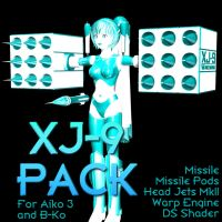 XJ-9 Prop Pack 1 by Sailmaster-Seion