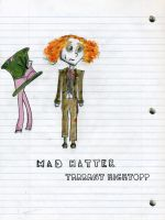 Mad Hatter 'colored' by Darianella