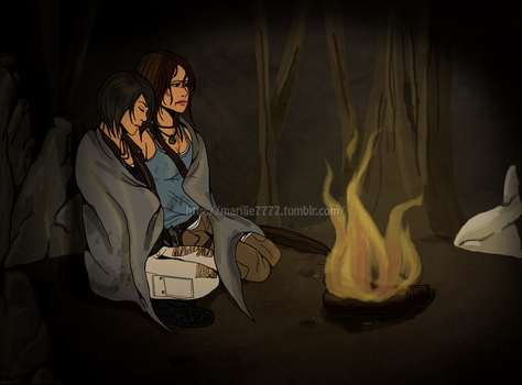 Lara x Sam by marilie7777