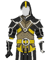 Conquest Void Knight - Archer (reworked armour) by Halfingr
