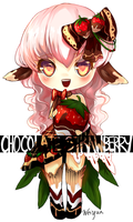 Chocolate Strawberry Adoptable [Adopted] by Weiyua