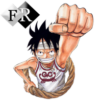 Monkey D. Luffy render 4 by Ferdiferrah