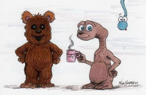 Wicket, Mugget and Foof by Phraggle