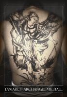 Taxiarch Archangel Michael by none4ROMiR