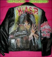 W.A.S.P. Leather Jacket 87 Era by WASP-Deviations