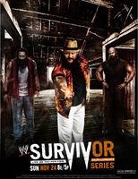 WWE Survivor Series 2013 Poster by thetrans4med