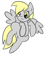 Derpy Flight by Phillnana