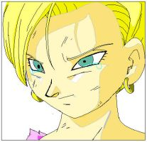 Android 18 DBGT by edgeofnight16