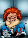 Crazy Chucky Colored by likwidlead