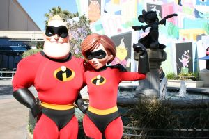 Mr. and Mrs. Incredible by DisneyLizzi